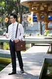Young Vietnamese businessman stock photo