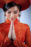 Young vietnamese woman Stock Photography