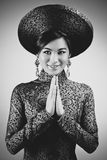 Young vietnamese woman Royalty Free Stock Photo