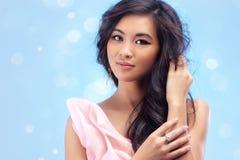 Young vietnamese woman portrait Stock Photos