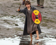 Young viking Stock Photo