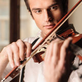 Young virtuoso stock photography