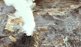 Young volcano Royalty Free Stock Image
