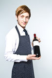 Young waiter Stock Photos
