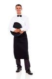 Waiter full length stock photography