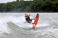 Young Wakeboarder Stock Images