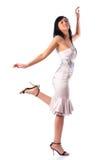 Young walking woman Royalty Free Stock Photo
