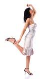 Young walking woman Royalty Free Stock Photos
