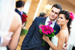 Free Young Wedding Couple Stock Images - 18467474