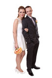 Young wedding couple Stock Photography
