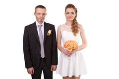 Young wedding couple Stock Photography