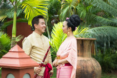 Young wedding at the public Royalty Free Stock Photo