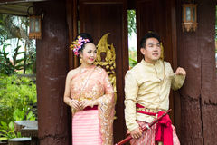 Young wedding at the public Stock Photography