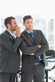 Young well dressed businessmen in discussion Royalty Free Stock Images