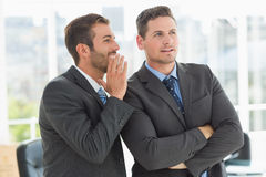 Young well dressed businessmen in discussion Royalty Free Stock Image