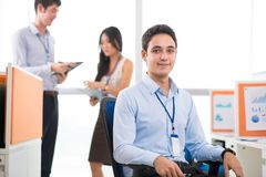 Young white collar worker Royalty Free Stock Images