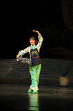 The young wife go out- Jiangxi opera a steelyard Stock Image