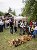 Young Wine Festival in Tbilisi Royalty Free Stock Photography