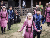 Young Wine Festival in Tbilisi Stock Image
