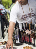 Young Wine Festival in Tbilisi Royalty Free Stock Images
