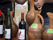 Young Wine Festival in Tbilisi Stock Photography