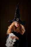 Young witch Royalty Free Stock Image