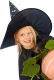 Young witch Stock Image