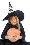 Young witch Stock Photos