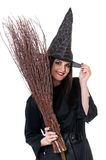 Young witch Stock Photo