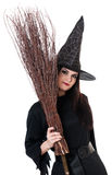Young witch Royalty Free Stock Photo