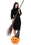 Young witch Royalty Free Stock Photography