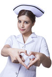 Young woman asian nurse Royalty Free Stock Images