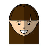 Young woman avatar character Royalty Free Stock Photos