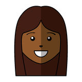 Young woman avatar character Royalty Free Stock Photography
