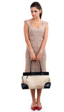 Young woman with bag Royalty Free Stock Photography
