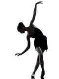 Young woman ballerina ballet dancer Stock Photo