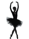 Young woman ballerina ballet dancer dancing stock images