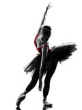 Young woman ballerina ballet dancer dancing Stock Photo
