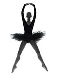 Young woman ballerina ballet dancer dancing stock photography