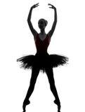 Young woman ballerina ballet dancer dancing Royalty Free Stock Photo