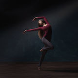 Young woman ballet dancer Royalty Free Stock Image