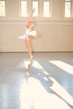 Young woman Ballet Stock Photo