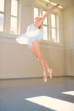 Young woman Ballet Stock Images
