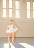 Young woman Ballet Royalty Free Stock Photos