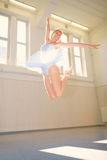 Young woman Ballet Stock Photography