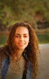Young woman on a beach in Kauai Hawaii Royalty Free Stock Photo