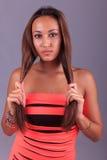 Young woman beautiful Stock Image