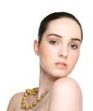 Young woman with beautiful skin Royalty Free Stock Photo