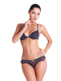 Young  woman with beautiful slim perfect body Stock Image