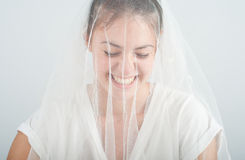 Young woman with a beautiful smile Stock Image